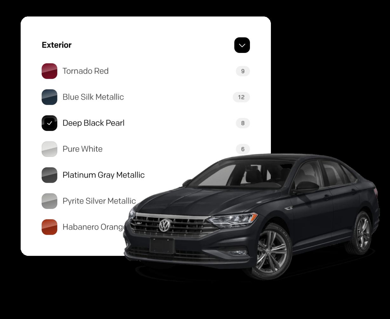 Digital Motors Exterior Colors